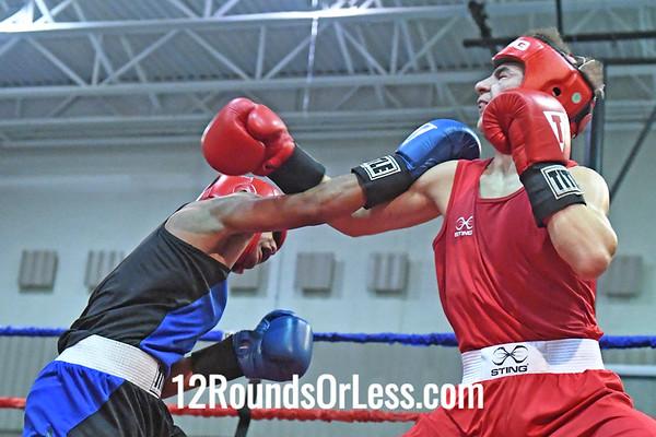 Bout #13: Keoma Alahidah, Red Gloves vs Noel Semen, Blue Gloves, 1-1/2 min. rds.