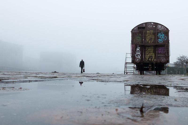 Foggy day in Copenhagen