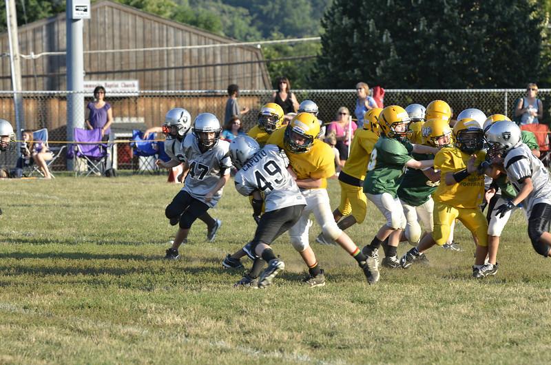 Wildcats vs Raiders Scrimmage 096.JPG