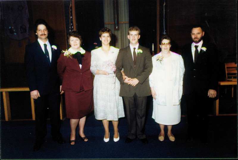 Annette's wedding to Dale Coons