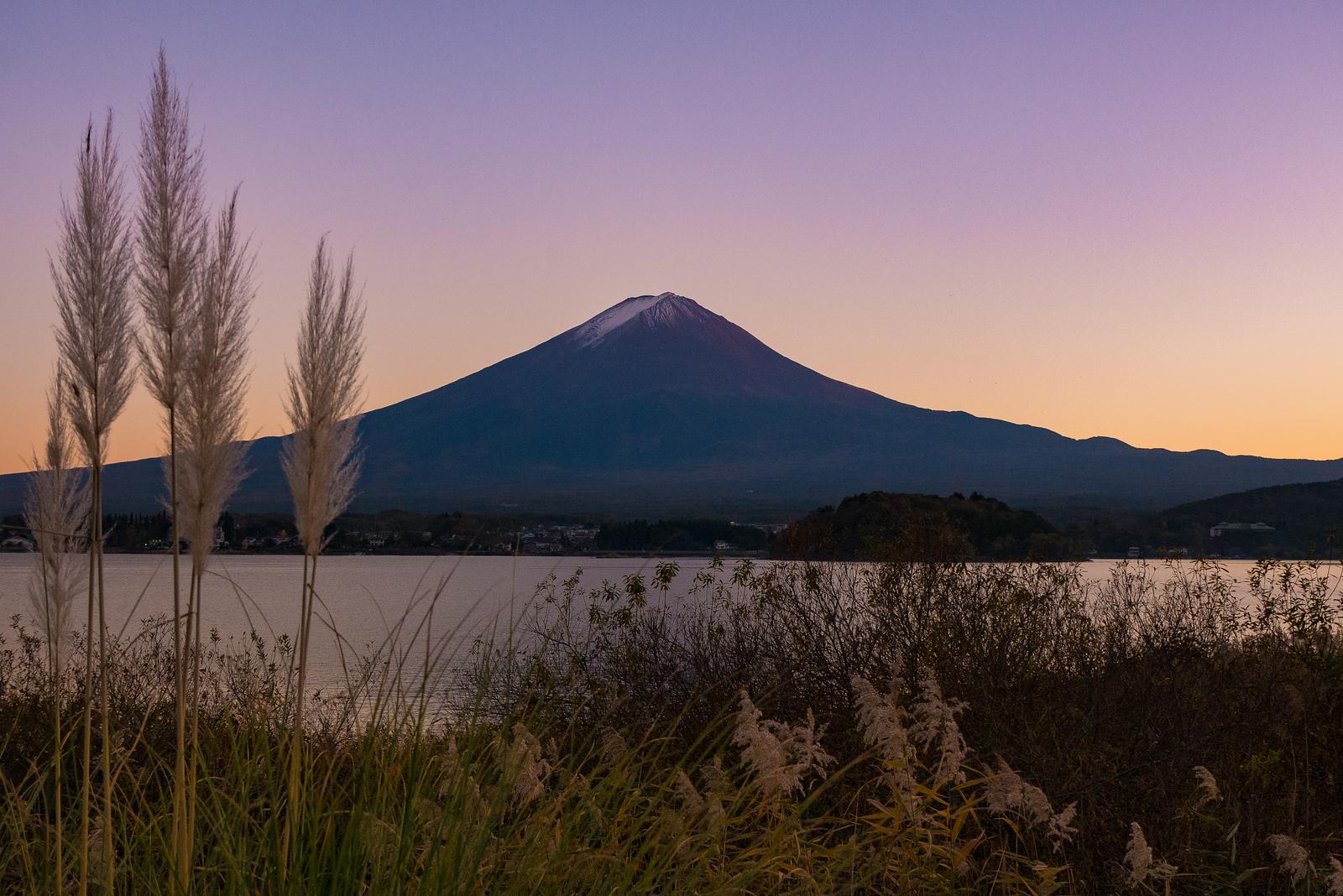 Fuji sunset