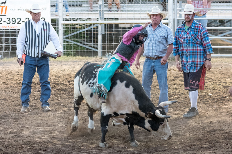 Wimberley VfW Rodeo, July 1st, 2017.