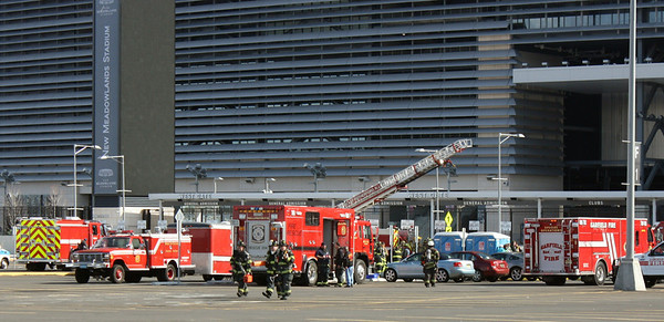 FEMA DRILL  (red zone)  Meadow Lands Stadium 3-19-11