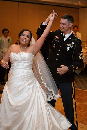 James and Valerie Hiegel Wedding - Jun10