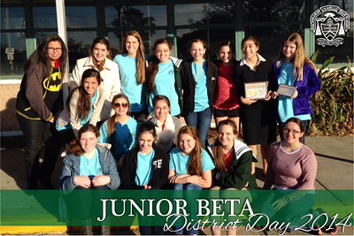 Junior Beta District Day