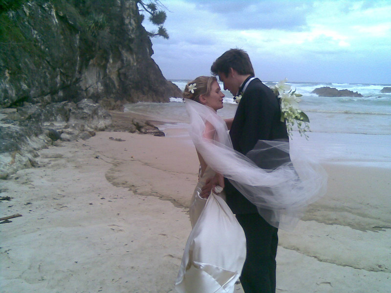 Andrew and Alice's Wedding at North Stradbroke Island. Photography by Trent Williams and a few others.