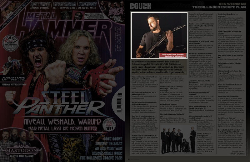 Metal Hammer Germany April 2017