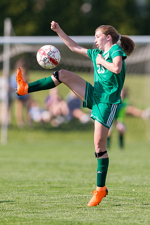 2018-05-09 | Girls MS Soccer | Central Dauphin @ Cumberland Valley