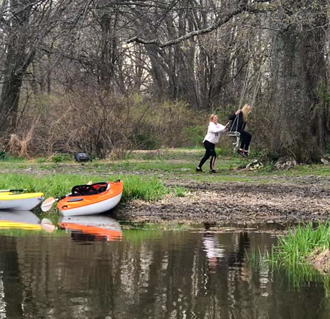Wallkill River w/Hearn's - Apr. 25, 2020