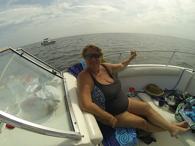 Scalloping with Alivia Jul 2014
