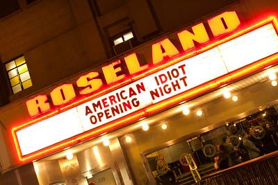 American Idiot Opening
