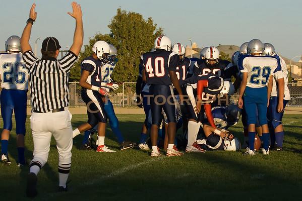 10/22/09 LnHS JV vs. Littlerock HS