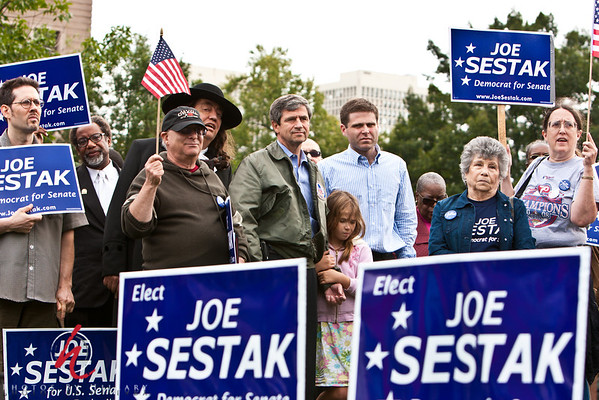 Sestak Philly Rally