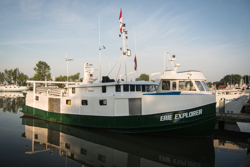 Port Dover has about 25 fishing tugs