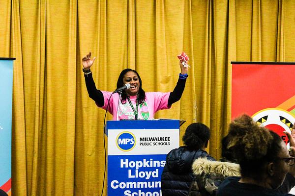MLK Day 2019 - Hopkins Lloyd Community School - City Year Milwaukee
