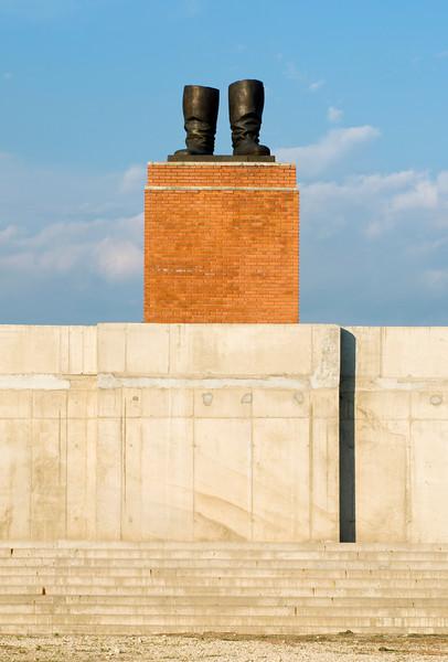 Stalin's Boots Statue, Budapest Memento Park