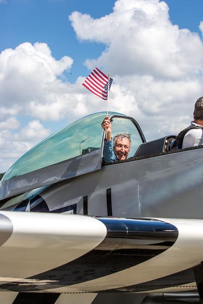 Wish of a Lifetime - Charlie's P51 flight