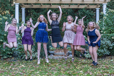 Macey and Friends Homecoming 2018