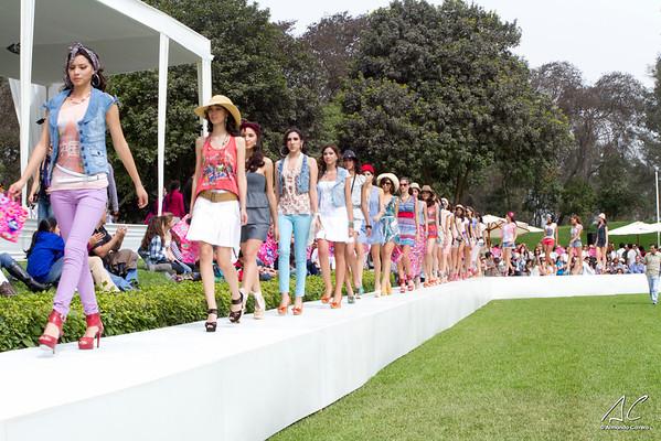 Colección Primavera Verano 2012 - Desfile, Lounge y Back Stage