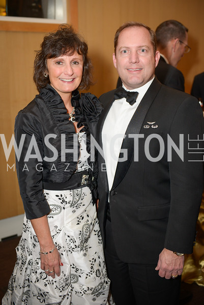 Lisa Schenck, James Schenck,  The Washington Business Hall of Fame, at the National Building Museum, November 28, 2018.  Photo by Ben Droz.
