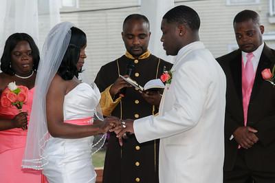 Asha & Cordarrius - Ceremony