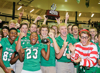 McIntosh Pep Rally