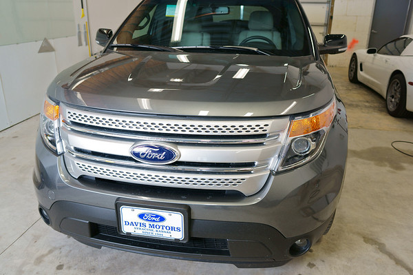 2014 Silver Ford Explorer