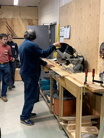 2019.05.09 Cabinet Making class at PTSW