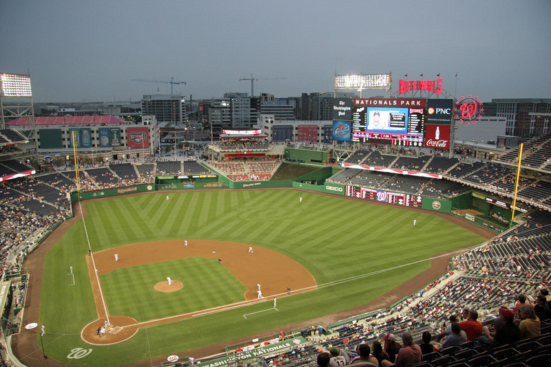 BASEBALL PARKS - NATIONALS PARK - WASHINGTON NATIONALS