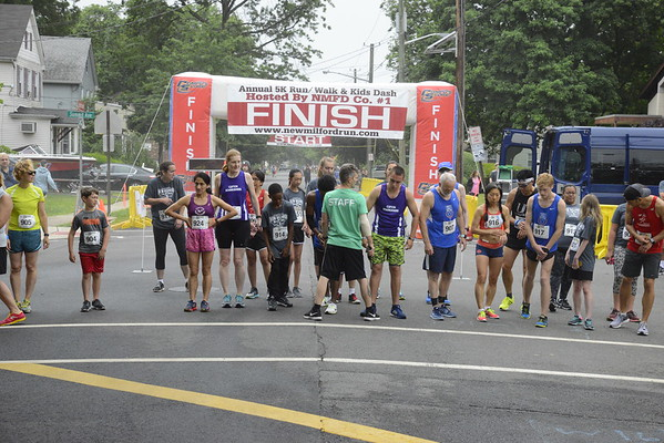 1 Mile Race (Start and Finish)