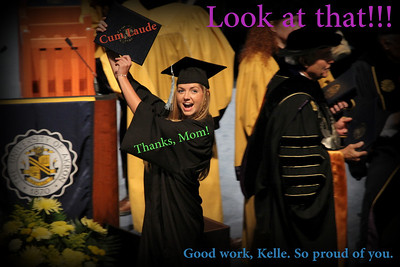 Kelle's Graduation from Akron