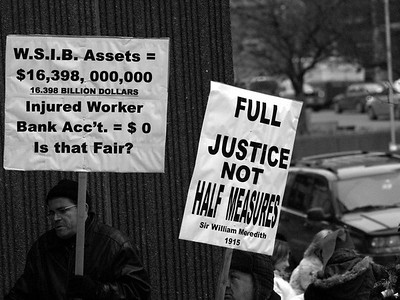 16th Annual Injured Workers Christmas Rally