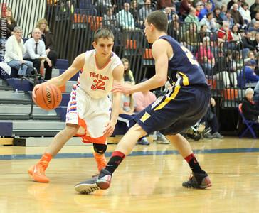 Penn Yan Basketball 1-14-14