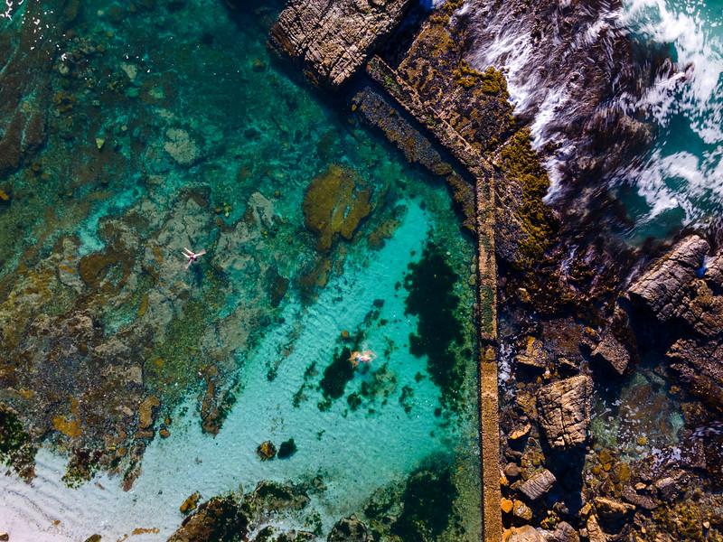 Hermanus tidal pool, Hermanus, South Africa