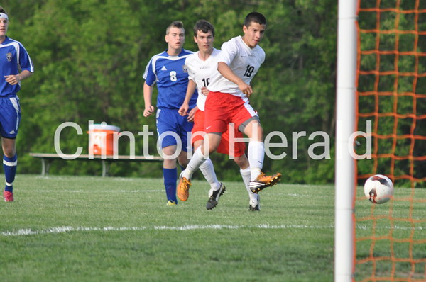 Prince of Peace at Assumption soccer (5-20-13)