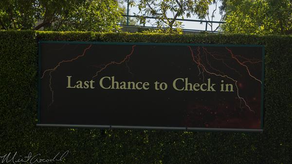 Disneyland Resort, Tower of Terror, Disney California Adventure