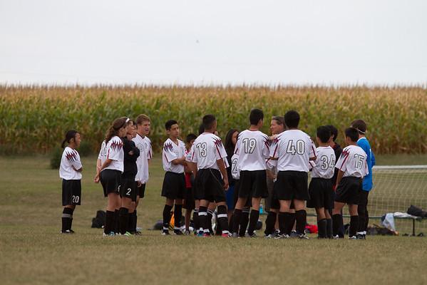 8-18-2012 Fairmont Scrimmage