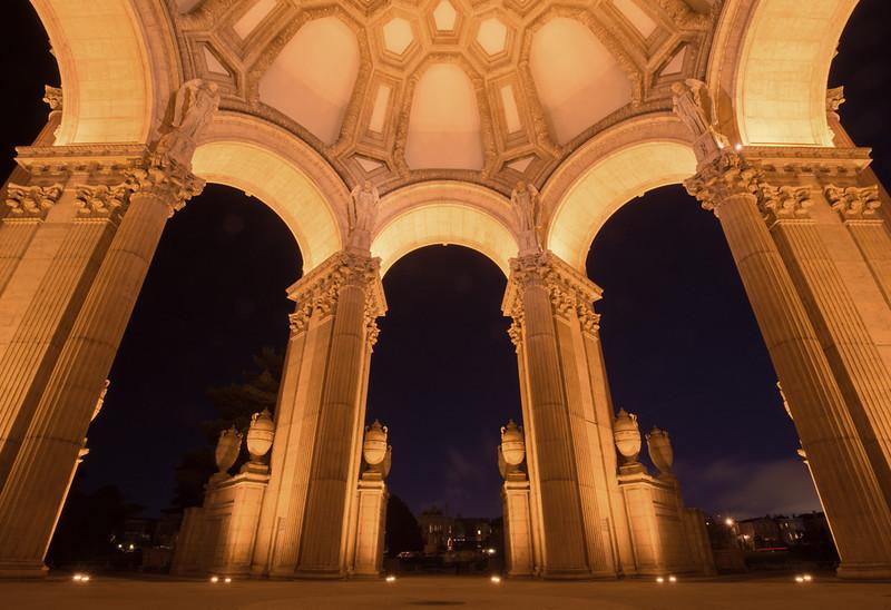 Palace Gates  Palace of Fine Arts