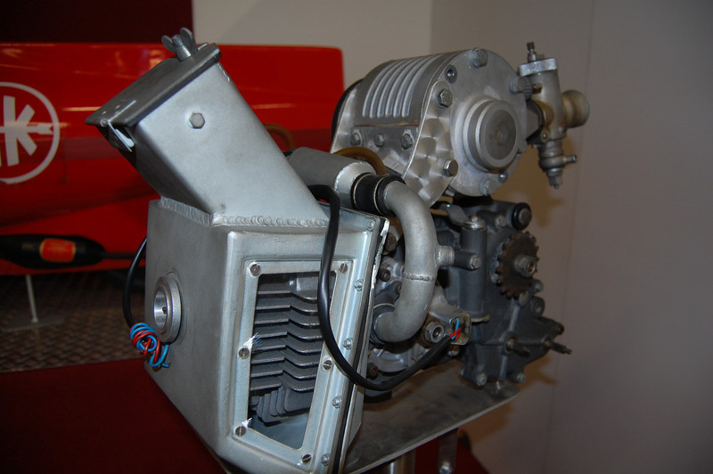 Supercharged two stroke