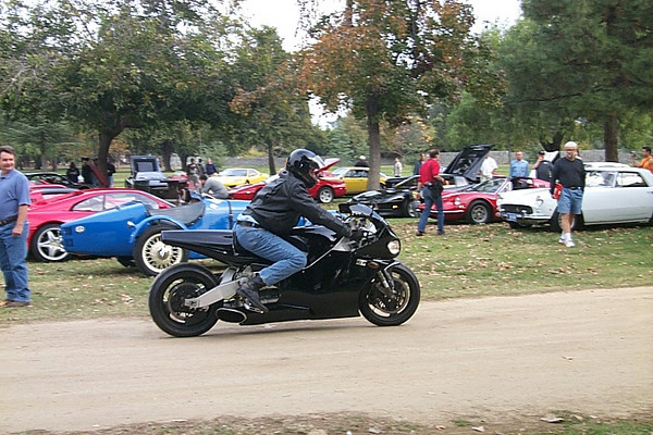 Jay Leno on his turbine powered superbike