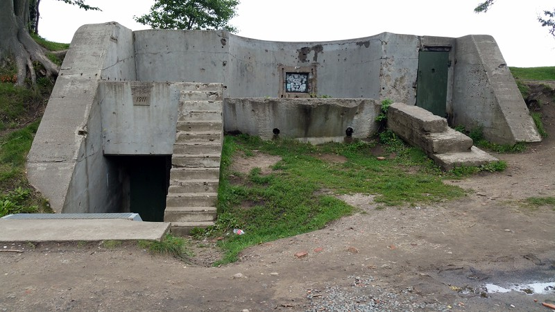 This was actually a Fort from 1911 that was utilised in WW2.