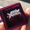 1.47ctw August Vintage Diamond Fancy Ring 5