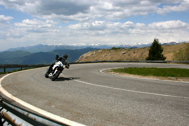 Test - The Multistrada 1200 On Some Great Roads In Northern Italy