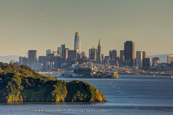 San Francisco Skyline Day
