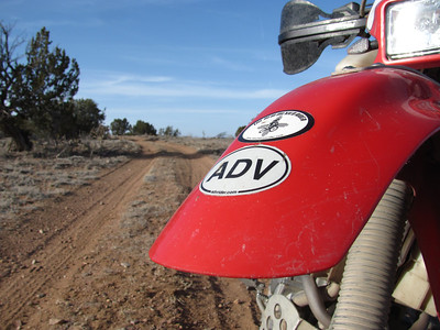 Albuquerque West Mesa-Rainbow area DS Ride  3-5-12