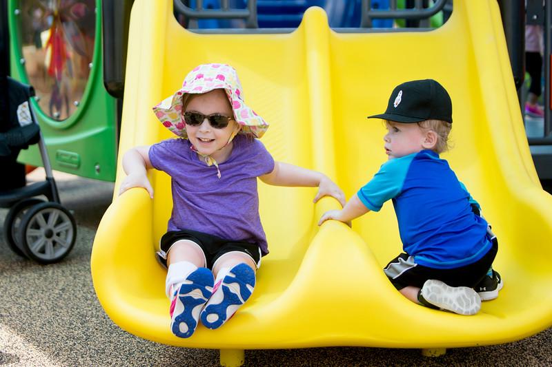 Grand Opening of Explore Playground and Splash Pad