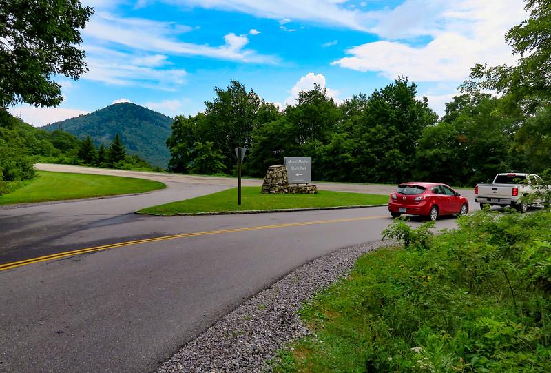 NC-128 - Blue Ridge Parkway Junction - 5,160'