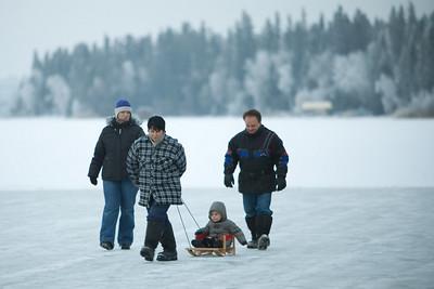 Emma Lake Dec 2009