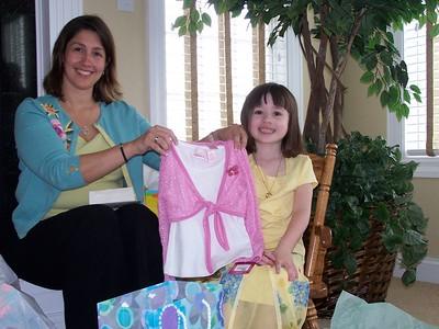 Emily's 5th Birthday - May 1, 2005