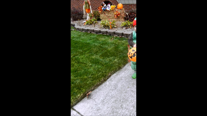 Dylan and Ada trick-or-treating.wmv